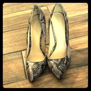 Shoes Pump Joe Fresh Python